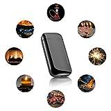 DIGOO Feuerzeug, USB Elektro-Feuerzeug Dual Lichtbogen mit Batterieanzeige, Aufladbar Winddicht Lange Lebensdauer mit USB-Kabel, für Küche Grill Kerzen Zigaretten - 7