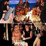 DIGOO Feuerzeug, USB Elektro-Feuerzeug Dual Lichtbogen mit Batterieanzeige, Aufladbar Winddicht Lange Lebensdauer mit USB-Kabel, für Küche Grill Kerzen Zigaretten - 8